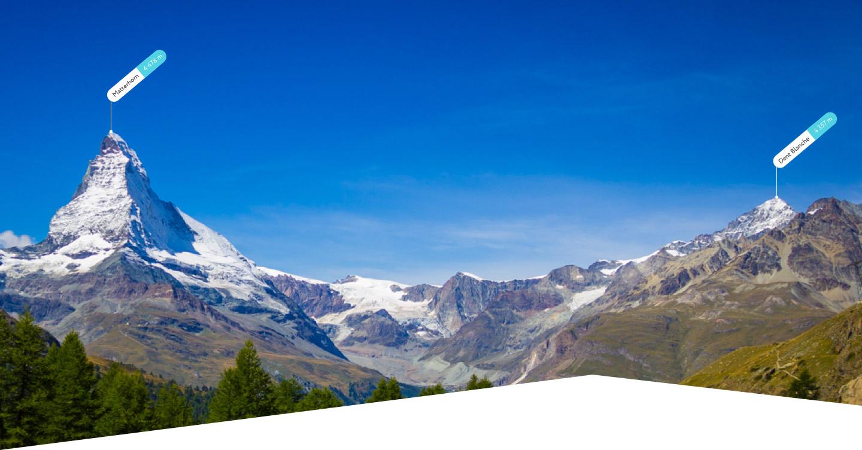 PeakVisor Identify Mountains