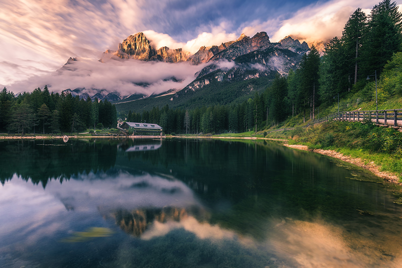 Ultra mountains of Italy