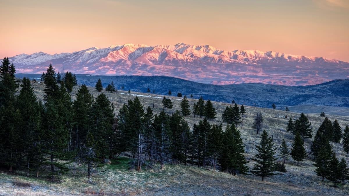 Central Montana Rocky Mountains