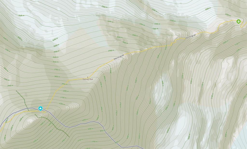 Hiking Trails in 3D