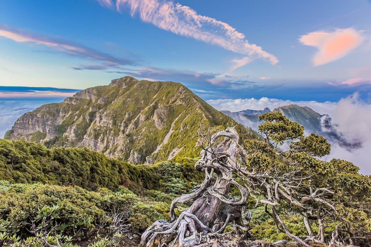 雪山、大霸尖山生態保護區