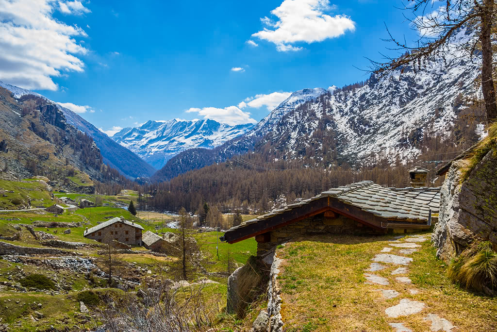 A short hike from Ceresole Reale in the Gran Paradiso National Park