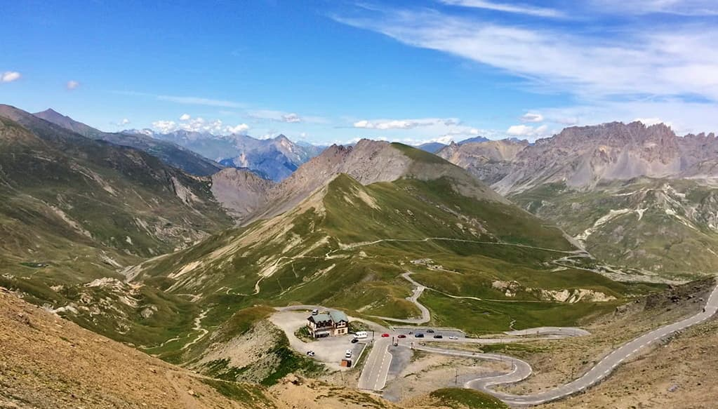 The mythical climb of the Col du Galibier