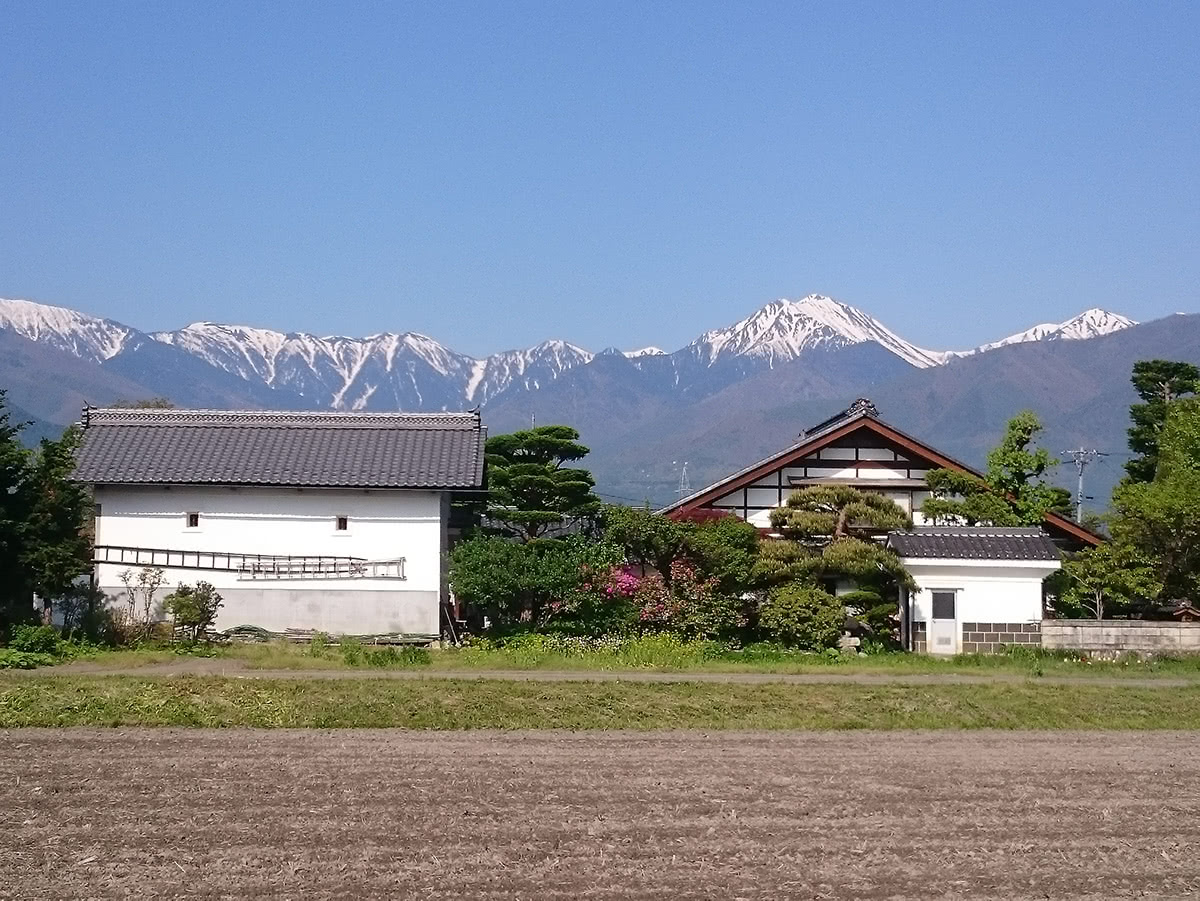 Japanese Alps Architecture