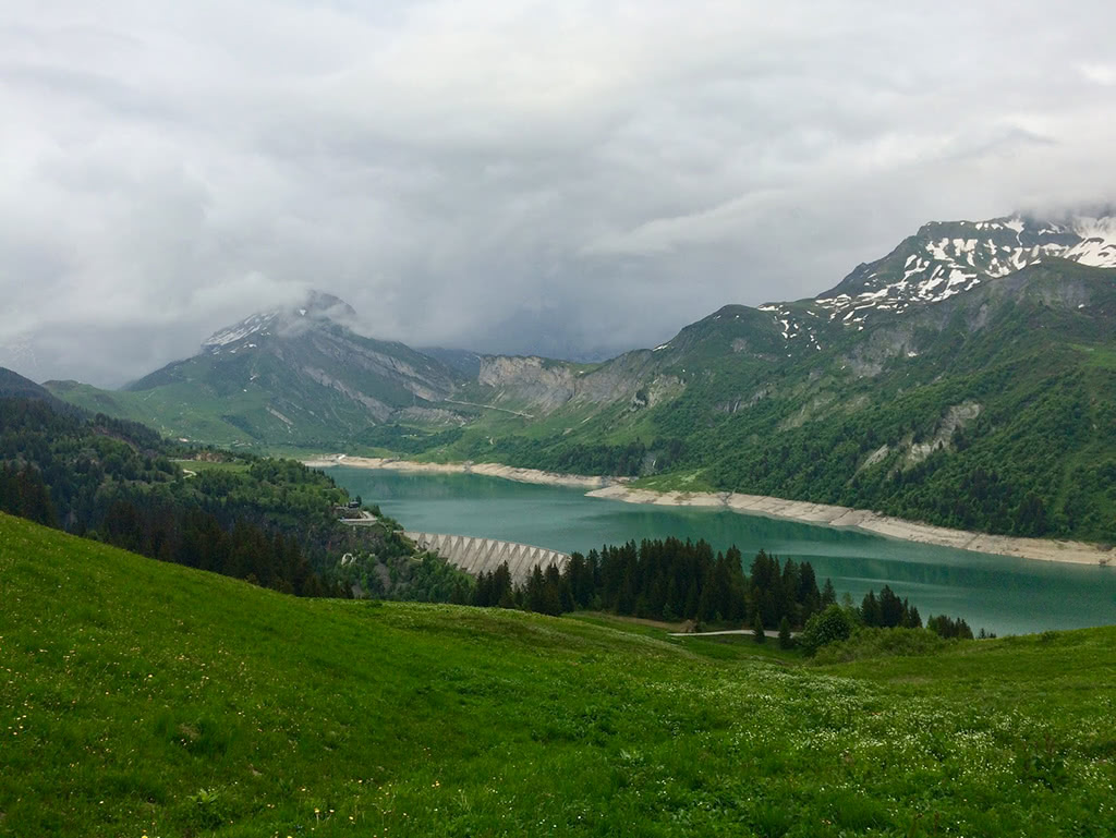 Lac de Roseland from the Col du Pre