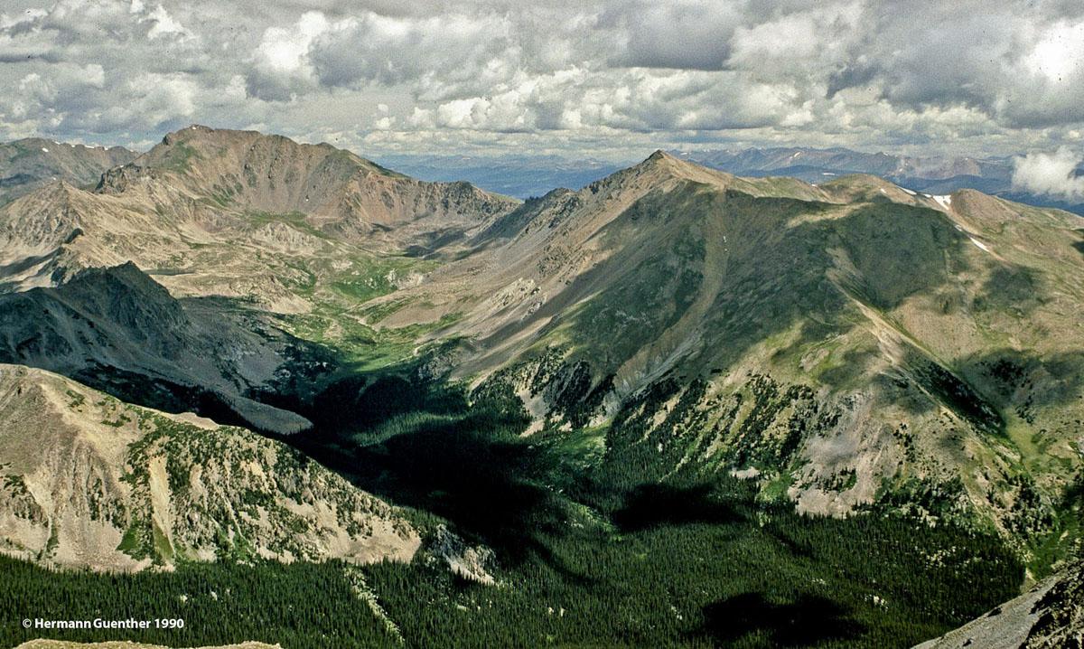 Collegiate Peaks Wilderness Area