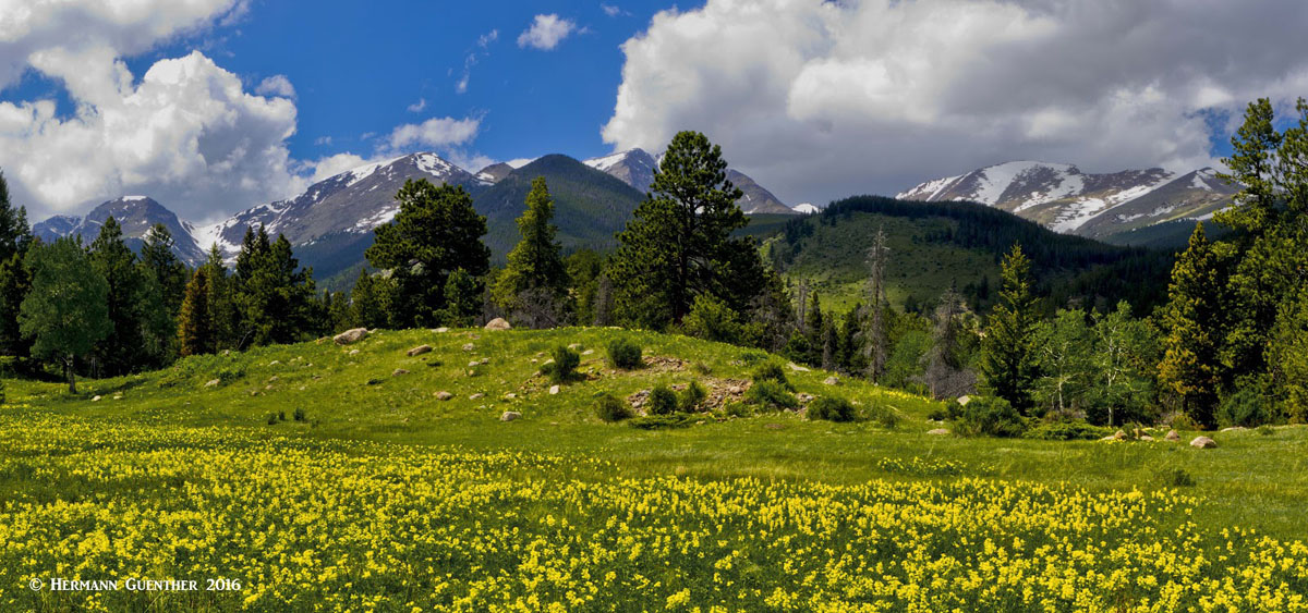 Rocky Mountain National Park in Springtime