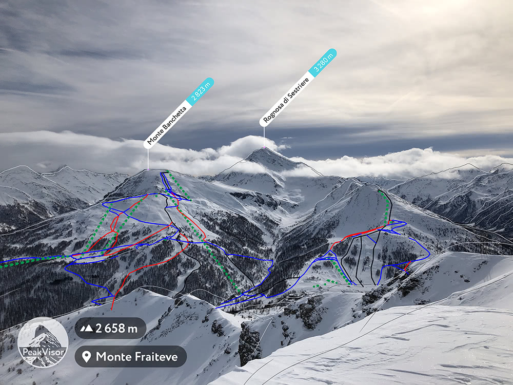 Sestriere Slopes