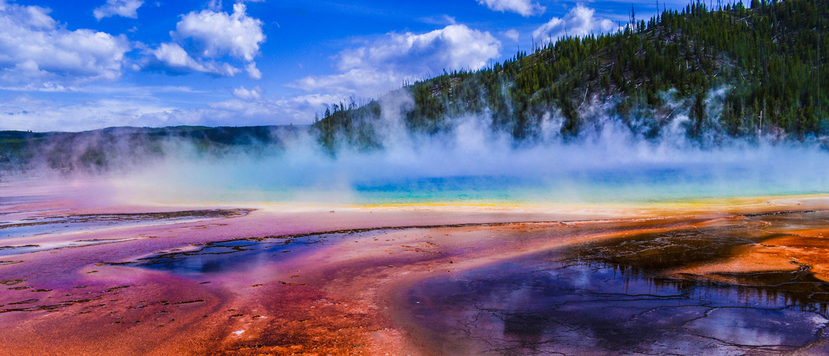 Yellowstone National Park Colors