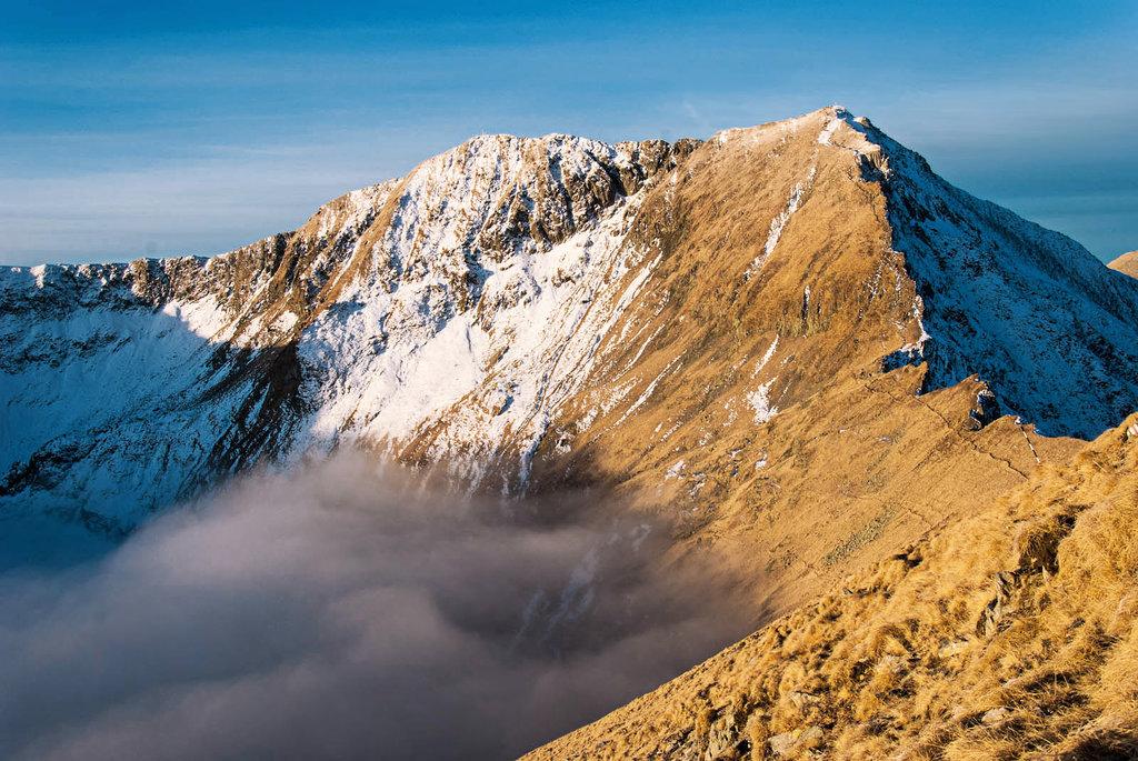 Ultra mountains of Romania