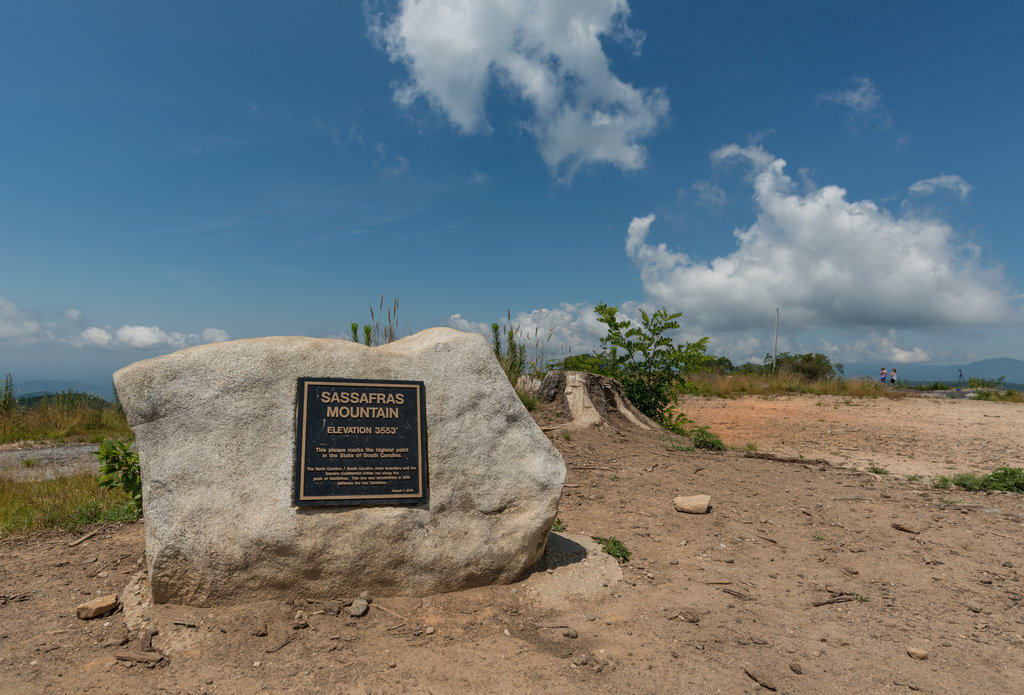 South Carolina 3000-foot Peaks
