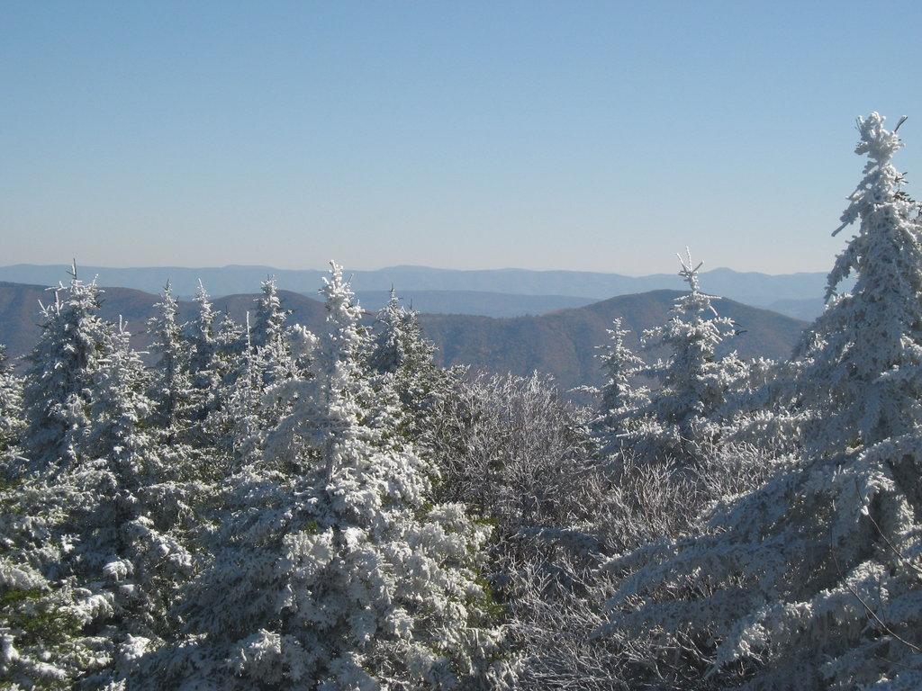 West Virginia 4500-foot Peaks