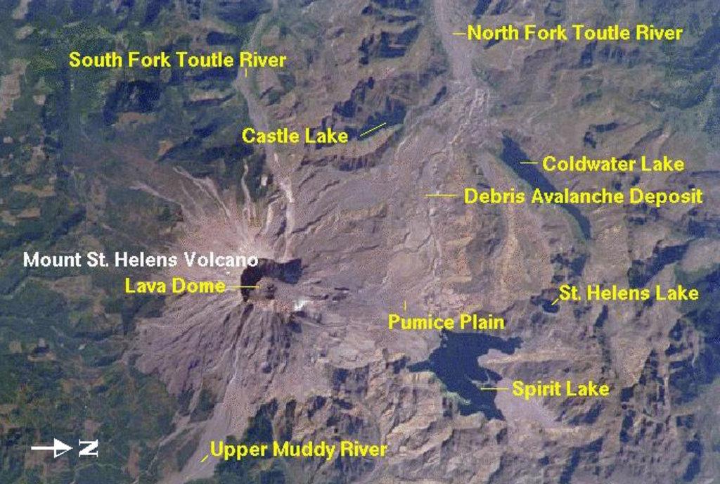 Photo №2 of Mount Saint Helens