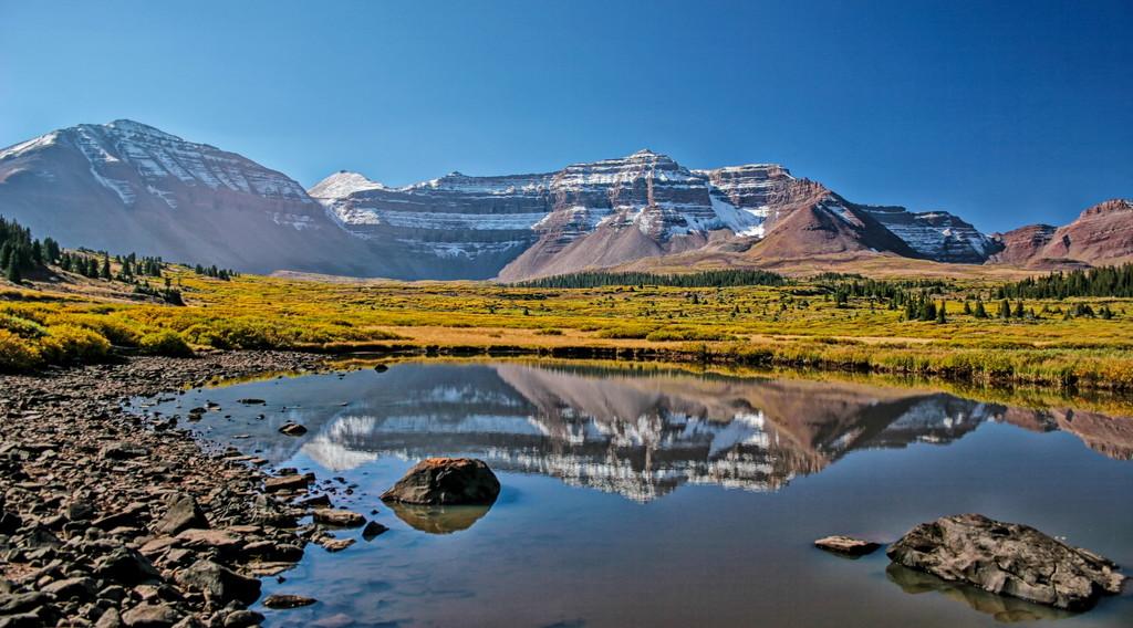 Ultra mountains of Utah