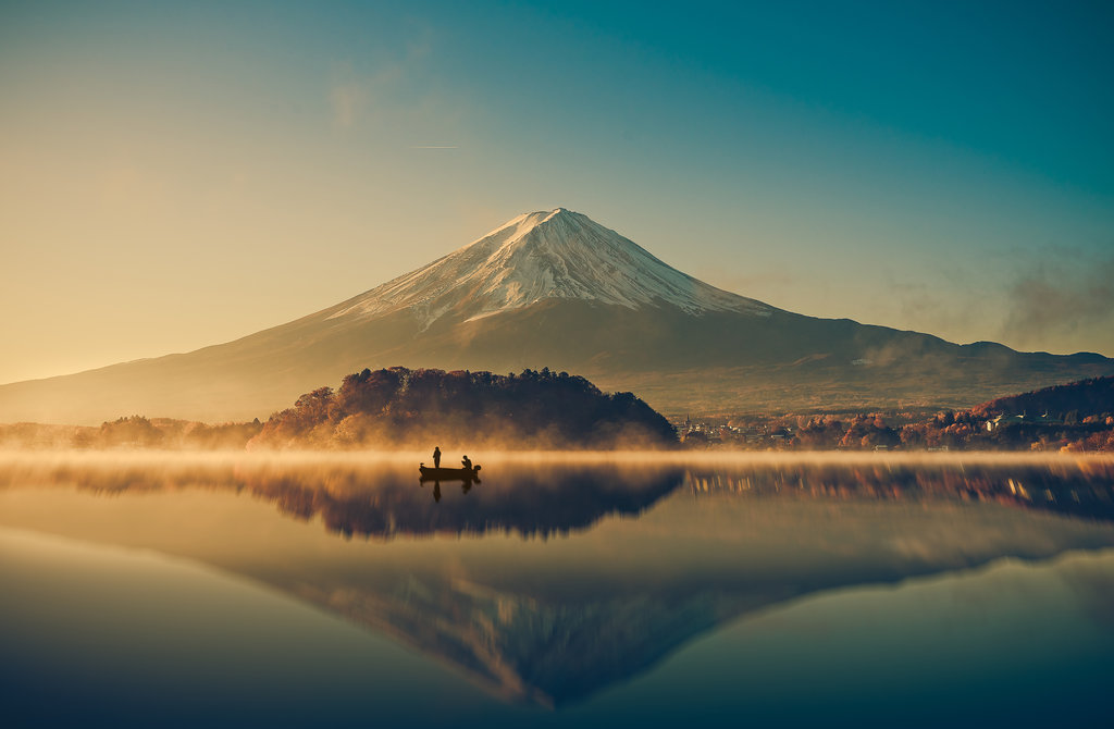 Ultra mountains of Japan