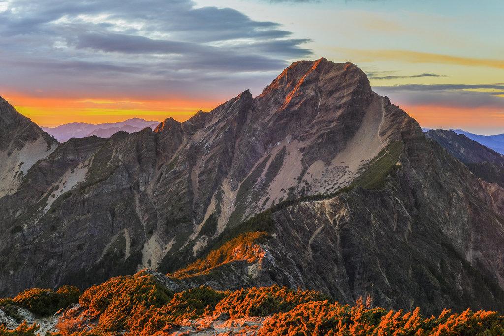 Ultra mountains of Taiwan